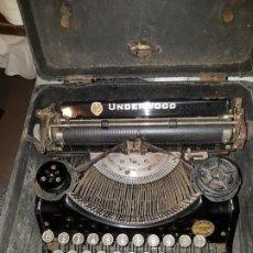 Antigüedades: MAQUINA DE ESCRIBIR UNDERWOOD. Lote 190383751