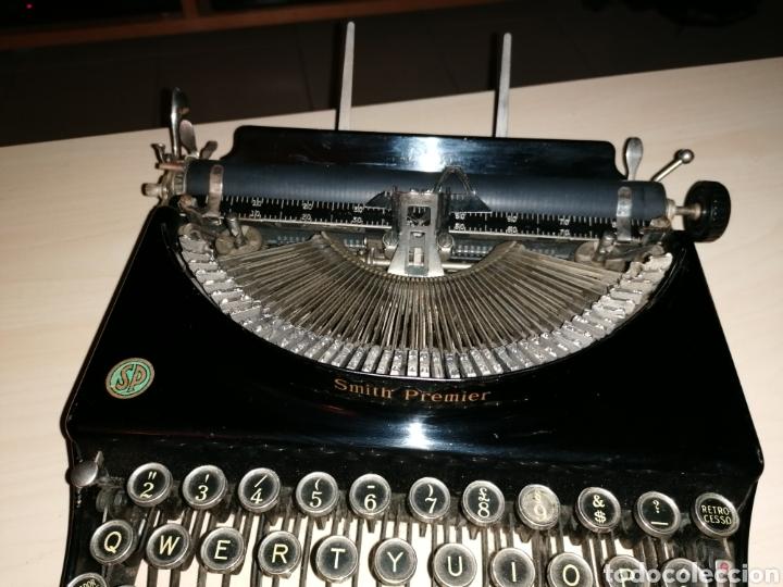 Antigüedades: Antigua máquina de escribir SMITH PREMIER No. 3 - Foto 3 - 190396853