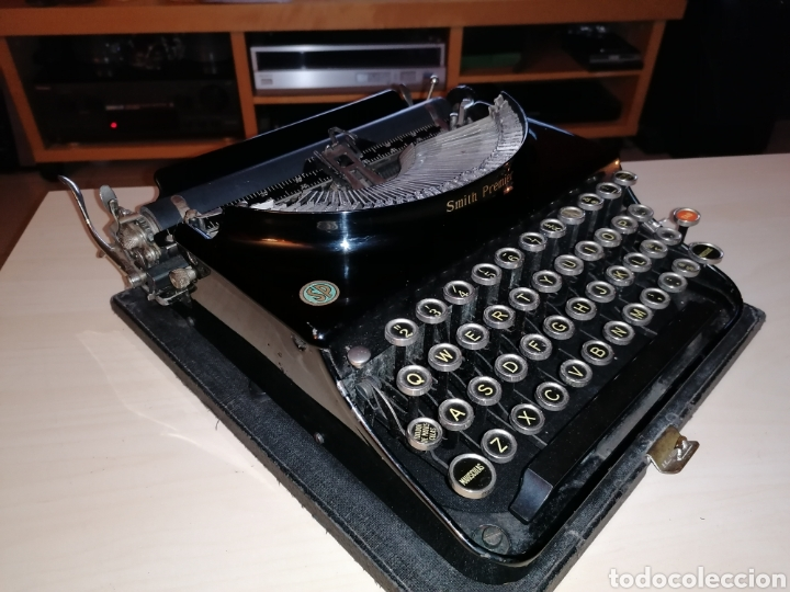 Antigüedades: Antigua máquina de escribir SMITH PREMIER No. 3 - Foto 4 - 190396853