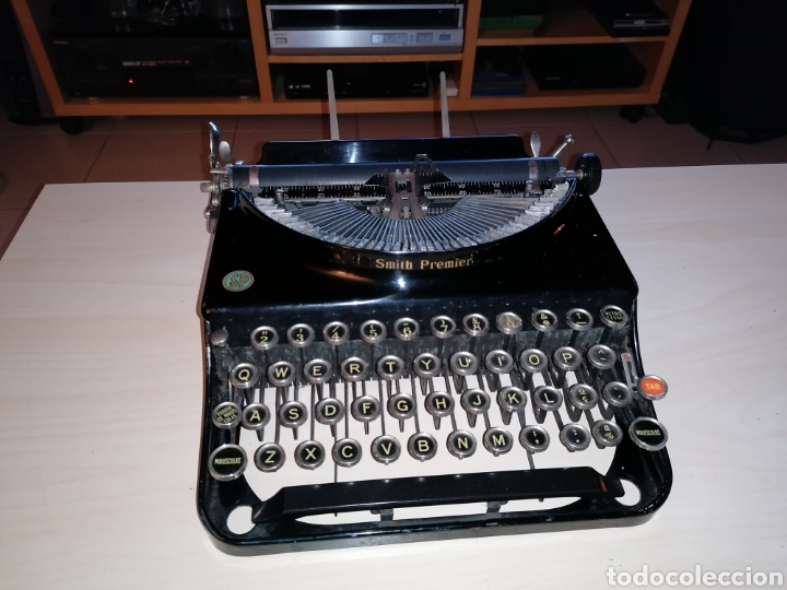 ANTIGUA MÁQUINA DE ESCRIBIR SMITH PREMIER NO. 3 (Antigüedades - Técnicas - Máquinas de Escribir Antiguas - Smith)