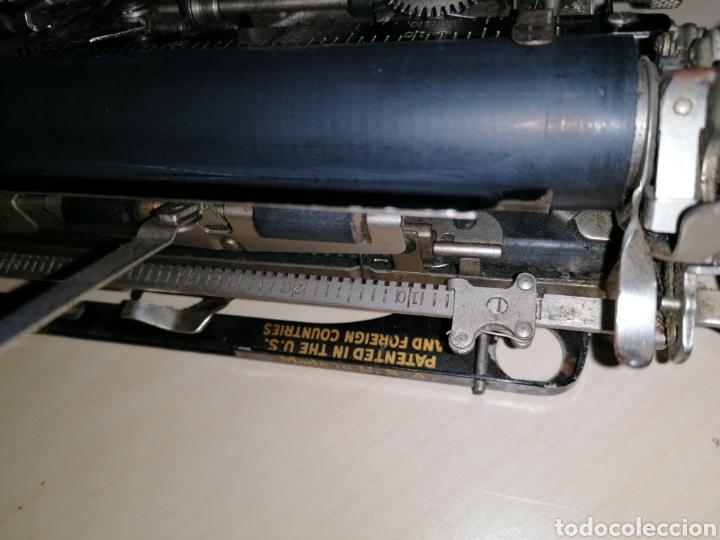 Antigüedades: Antigua máquina de escribir SMITH PREMIER No. 3 - Foto 8 - 190396853
