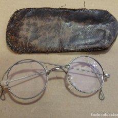 Antigüedades: GAFAS QUEVEDO CON FUNDA. Lote 190410526