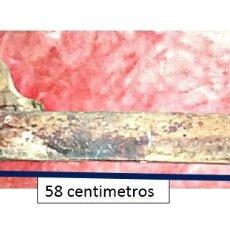 Antigüedades: ANTIGUO CEPILLO MADERA MACIZA. 58 CENTÍMETROS. AÑOS 50-60. Lote 190448138