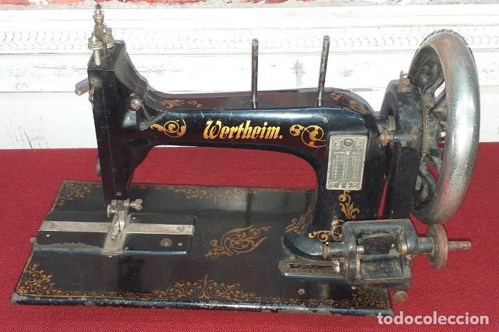 ANTIGUA MAQUINA DE COSER WERTHEIM SIGLO XIX (Antigüedades - Técnicas - Máquinas de Coser Antiguas - Wertheim )