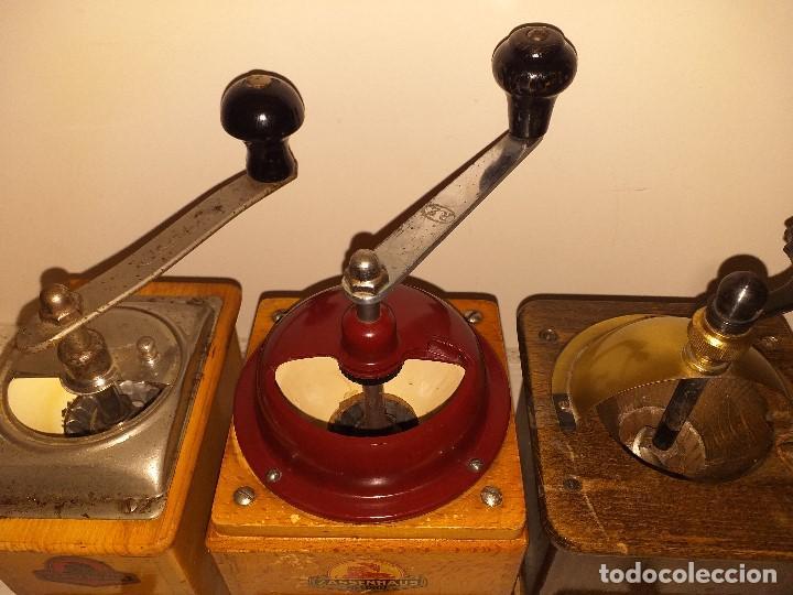 Antigüedades: 3 Molino de Cafe 1 de Pimienta y 1 Salero de la firma Alemana Zassenhaus (RZ Robert Zassenhaus) - Foto 7 - 190560198