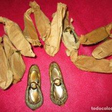 Antigüedades: GENIAL LOTE 12 TIRADORES DEL 1870 A ESTRENAR !!! IDEAL RESTAURACION MUEBLES. Lote 190562030