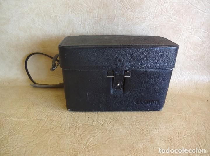 Antigüedades: camara cine canon motor zoom 8 mm con maletin - Foto 7 - 190698568