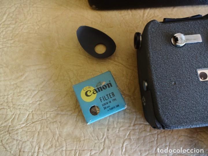 Antigüedades: camara cine canon motor zoom 8 mm con maletin - Foto 5 - 190698568