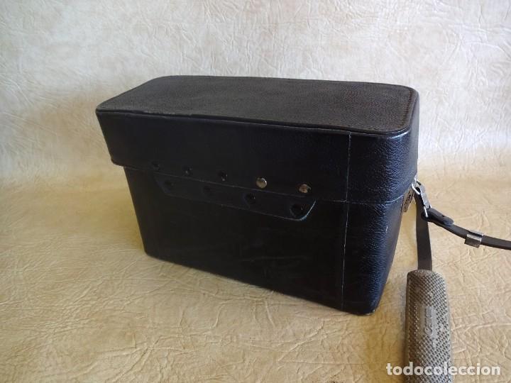 Antigüedades: camara cine canon motor zoom 8 mm con maletin - Foto 9 - 190698568