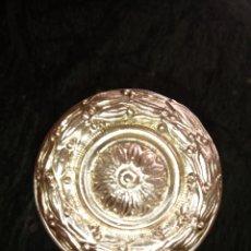 Antigüedades: TIRADOR O POMO DE BRONCE PARA PUERTA DE ENTRADA. Lote 190706846