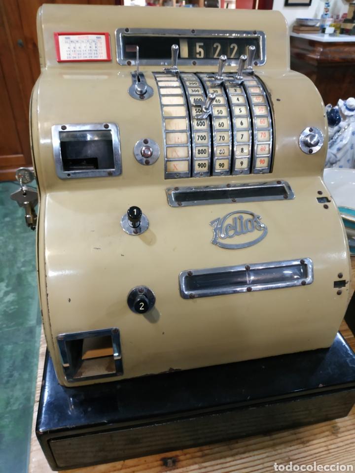 Antigüedades: Caja registradora - Foto 10 - 190761771