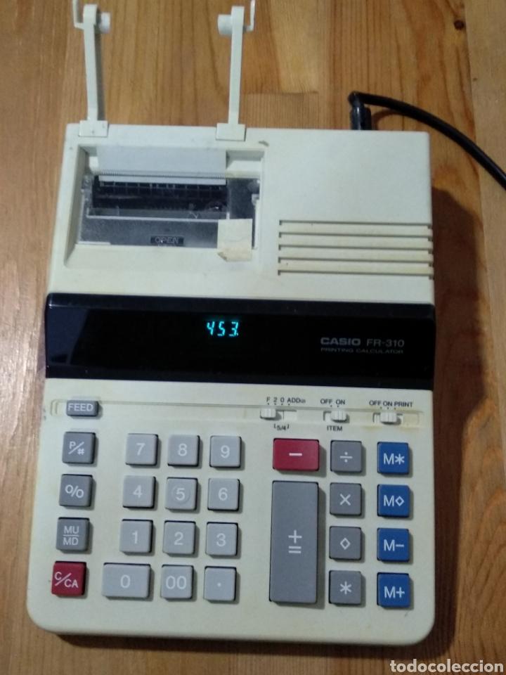 CALCULADORA CASIO MODELO FR-310 (Antigüedades - Técnicas - Aparatos de Cálculo - Calculadoras Antiguas)