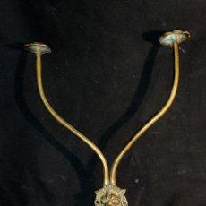 Antigüedades: PERCHA, COLGADOR MODERNISTA DE BRONCE. Lote 190778212