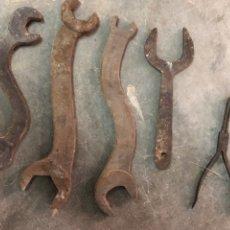 Antigüedades: LOTE DE HERRAMIENTAS INDUSTRIALES. Lote 190832030