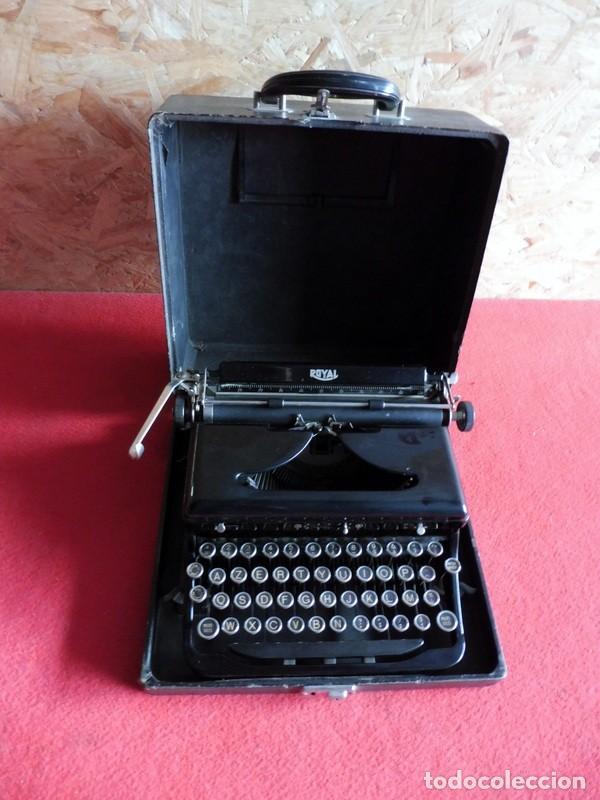 MÁQUINA DE ESCRIBIR ROYAL PORTÁTIL (Antigüedades - Técnicas - Máquinas de Escribir Antiguas - Royal)