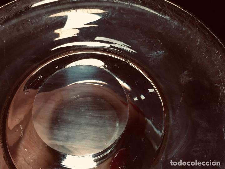 Antigüedades: antigua lupa borbadora en vidrio soplado hecha a mano vela luz s xviii xix - Foto 21 - 190902991