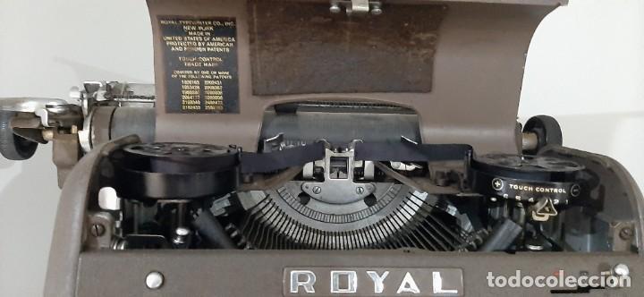 MAQUINA ESCRIBIR MARCA ROYAL (Antigüedades - Técnicas - Máquinas de Escribir Antiguas - Royal)