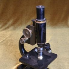 Antigüedades: MICROSCOPIO SPENCER,BUFFALO,U.S.A. Nº DE SERIE 80360, AÑOS 40. Lote 191070200