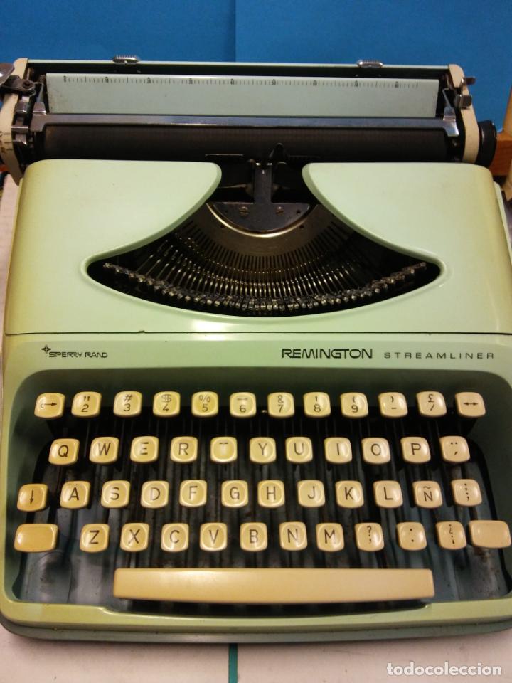HERMOSA MAQUINA DE ESCRIBIR REMINGTON. VINTAGE. PIEZA DE COLECCIÓN (Antigüedades - Técnicas - Máquinas de Escribir Antiguas - Remington)