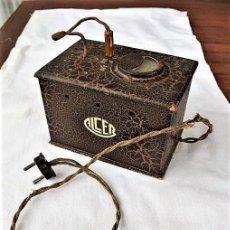 Antigüedades: ANTIGUO TRANSFORMADOR-REDUCTOR ELÉCTRICO. Lote 191089920