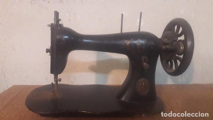 Antigüedades: Antigua maquina coser Singer - Foto 6 - 191115051