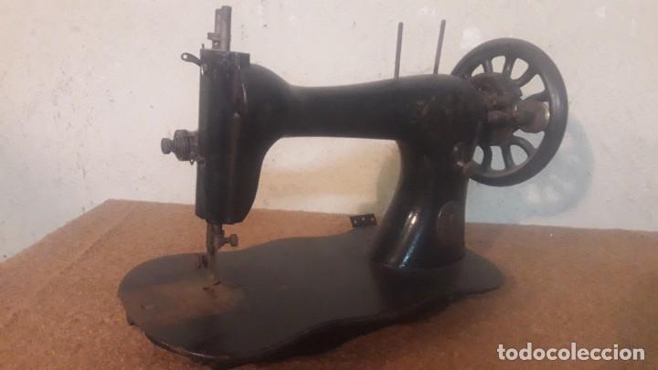Antigüedades: Antigua maquina coser Singer - Foto 7 - 191115051