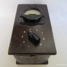 Antigüedades: ANTIGUO APARATO ELÉCTRICO. AÑOS 30-40. Lote 191125460