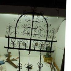 Antigüedades: ESPETERA DE FORJA CON 3 PINCHOS. Lote 191134651