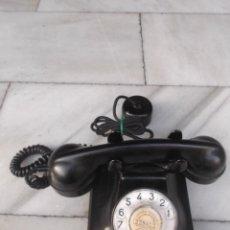 Teléfonos: ANTIGUO TELEFONO DE BAQUELITA. Lote 191138732