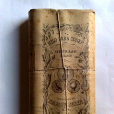 Antigüedades: HILO DE COSER RAMON JULIA,PAQUETE DE HILO (9 CARRETES) METRAJE FIJO,ENVOLTORIO ORIGINAL CON PRECINTO. Lote 191165578