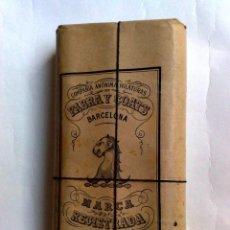 Antigüedades: HILO DE COSER SUPERIOR FABRA Y COATS,PAQUETE DE HILO (12 CARRETES) ENVOLTORIO ORIGINAL CON PRECINTO. Lote 191166851