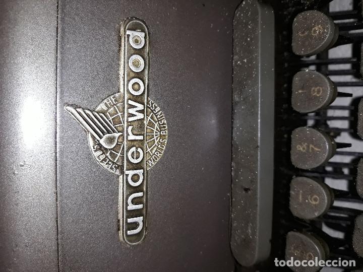 Antigüedades: Máquina de escribir Underwood - Foto 2 - 191174115