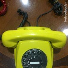 Teléfonos: TELEFONO ANTIGUO POST FETAP 611-2 COLOR MOSTAZA. Lote 191204101