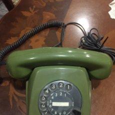 Teléfonos: TELEFONO ANTIGUO POST FETAP 611-2 COLOR VERDE OSCURO. Lote 191204242