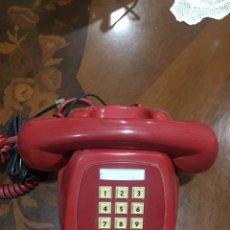 Teléfonos: TELEFONO ANTIGUO CITESA COLOR ROJO. Lote 191205351
