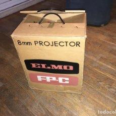Antiquités: PROYECTOR CINE 8MM ELMO FP-C PROJECTOR + REGALO ( PELI + CINECOL + SPLICER) (GA). Lote 191215763