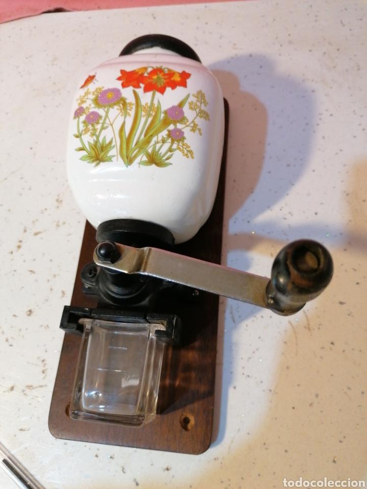 Antigüedades: Molinillo de café de parez - Foto 2 - 191239178
