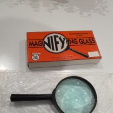 Antigüedades: LUPA IMPERIAL MAGNIFYING GLASS 75MM. Lote 191272418