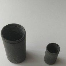 Antigüedades: BOTE DE ALUMINIO PELTRE ESTAÑO O PLOMO. Lote 191285595