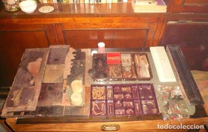 PIEZAS VARIAS CAJA REGISTRADORA NATIONAL (Antigüedades - Técnicas - Aparatos de Cálculo - Cajas Registradoras Antiguas)