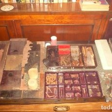 Antigüedades: PIEZAS VARIAS CAJA REGISTRADORA NATIONAL. Lote 191291407