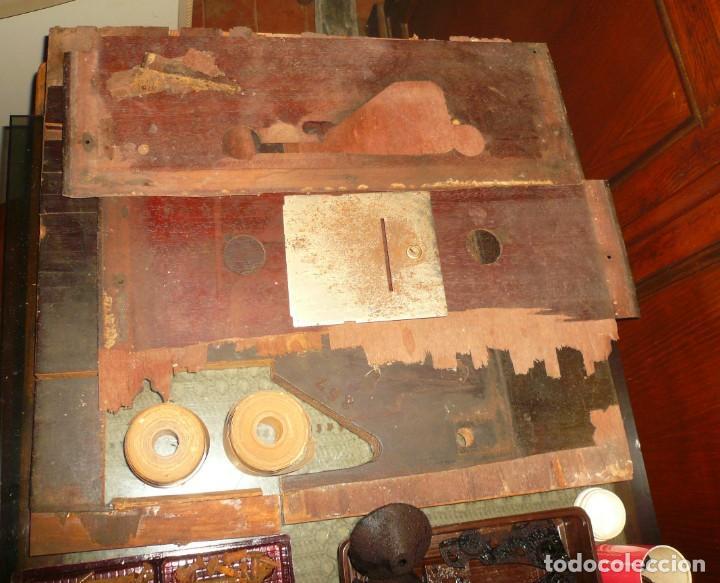 Antigüedades: PIEZAS VARIAS CAJA REGISTRADORA NATIONAL - Foto 4 - 191291407