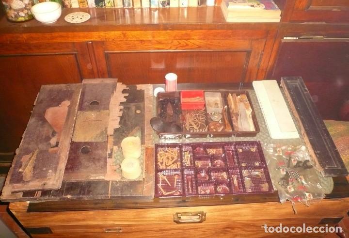 Antigüedades: PIEZAS VARIAS CAJA REGISTRADORA NATIONAL - Foto 12 - 191291407