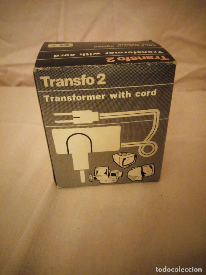Antigüedades: TRANSFO 2 TRANFORMER WITH CORD, 220W - Foto 5 - 191314903
