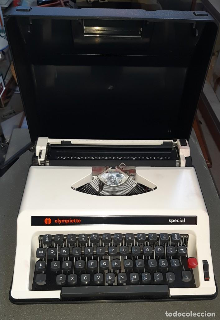 MÁQUINA DE ESCRIBIR OLIMPIETTE (Antigüedades - Técnicas - Máquinas de Escribir Antiguas - Otras)
