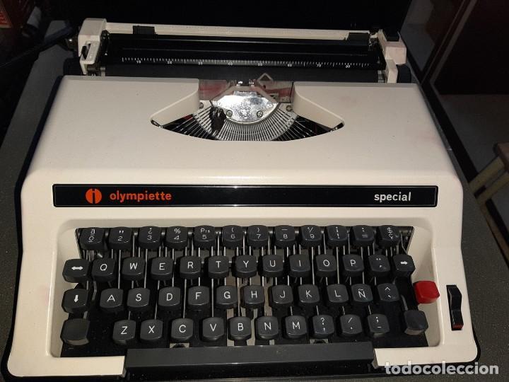 Antigüedades: Máquina de escribir olimpiette - Foto 3 - 191316653