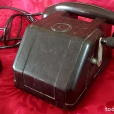 Teléfonos: MUY RARO - ANTIGUO TELEFONO RUSO DE MANIVELA AÑO 1959 - MARCA RUSA FABRICA AERONAUTICA ROSHILOV. Lote 191397651