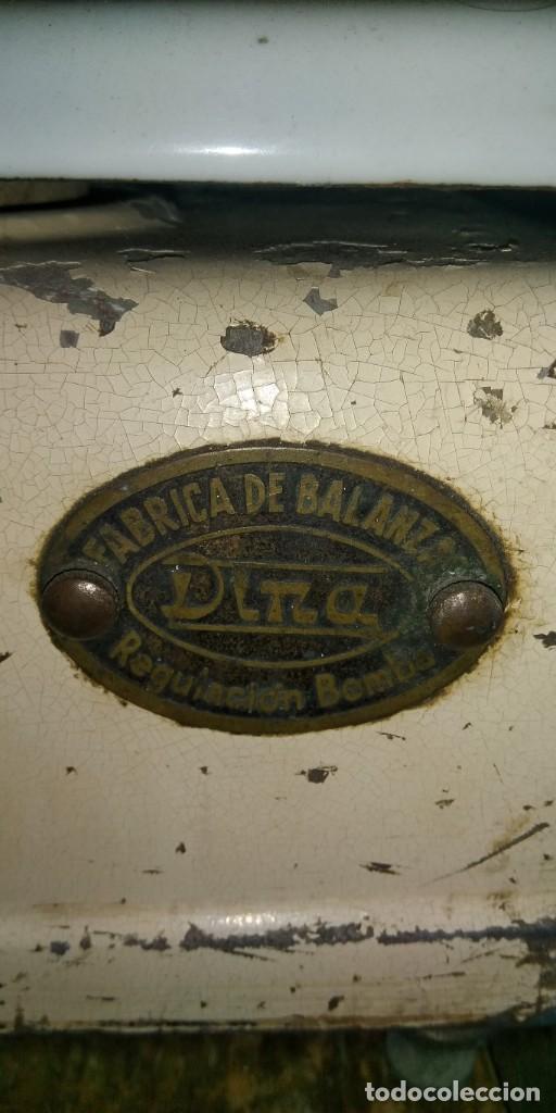 Antigüedades: BALANZA ANTIGUA DINA - Foto 5 - 191407996