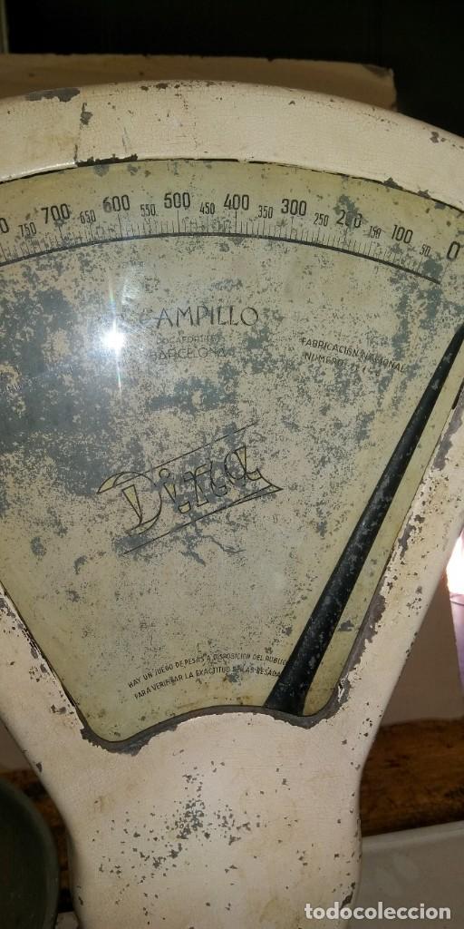 Antigüedades: BALANZA ANTIGUA DINA - Foto 6 - 191407996