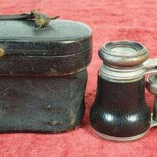 Antigüedades: BINOCULARES DE ÓPERA. METAL Y CUERO. FUNDA ORIGINAL. VOIGTLANDER AND SOHN. SIGLO XX.. Lote 191436195